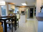 Large open kitchen with eating area and open to the sunken main floor Family Room!